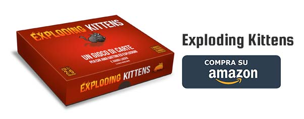 Acquista Exploding Kittens su Amazon