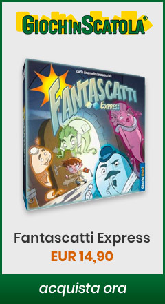 Acquista Fantascatti Express su giochinscatola.it