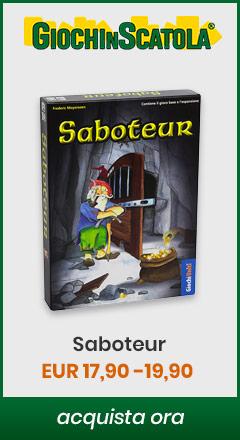 Acquista Saboteur su giochinscatola.it